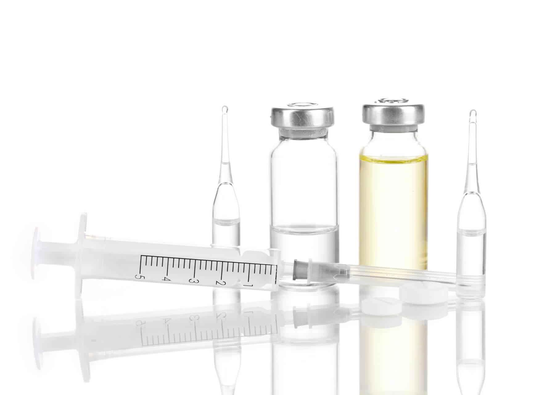 Интракавернозные инъекции при лечения ЭД - фото шприца | Академия SCHALI®